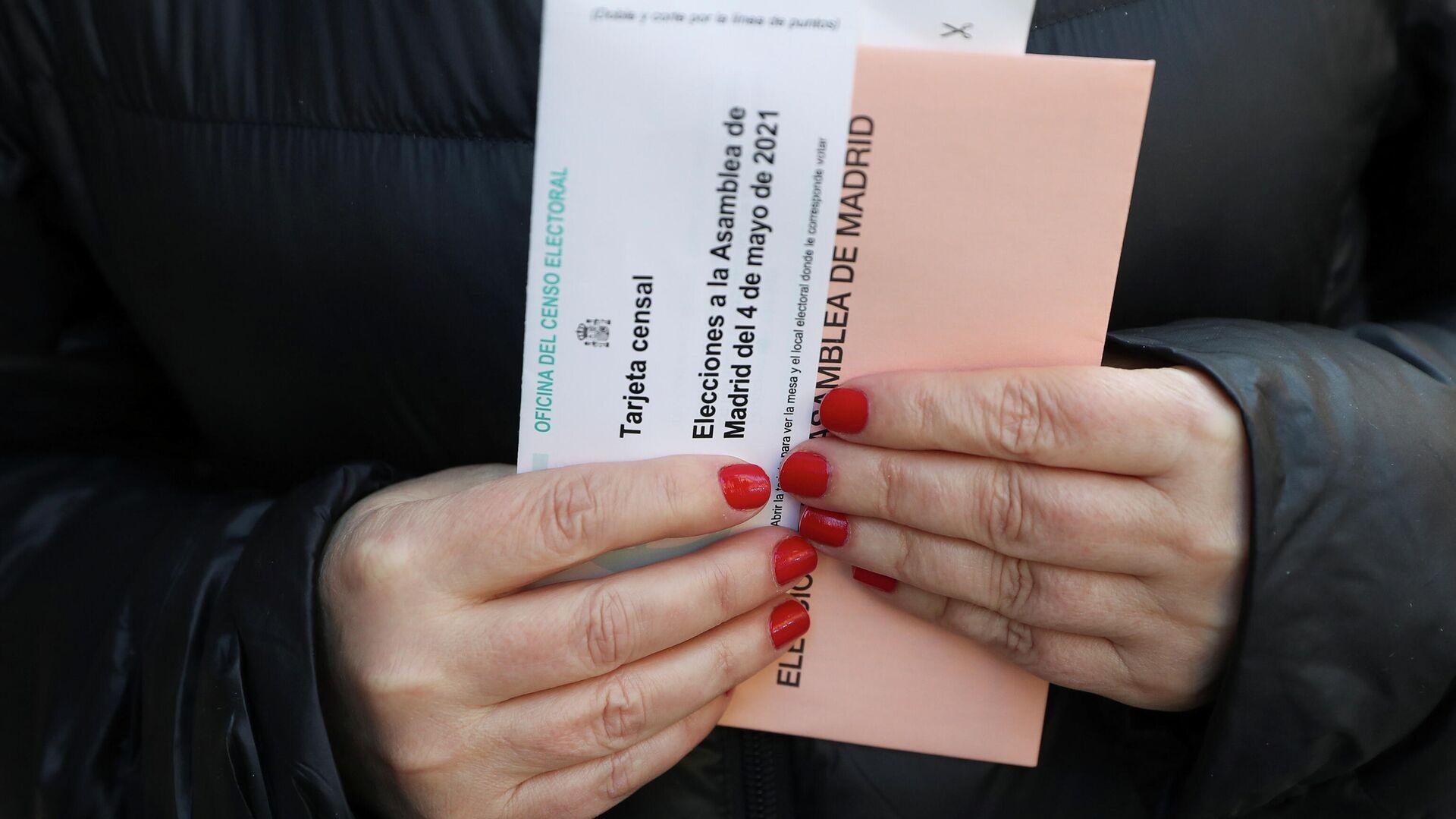 Elecciones en la Comunidad de Madrid - Sputnik Mundo, 1920, 04.05.2021