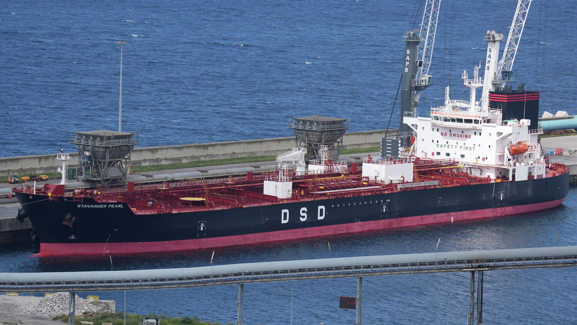 Buque mercante Stavanger Pearl, atracado en Bilbao - Sputnik Mundo, 1920, 04.05.2021