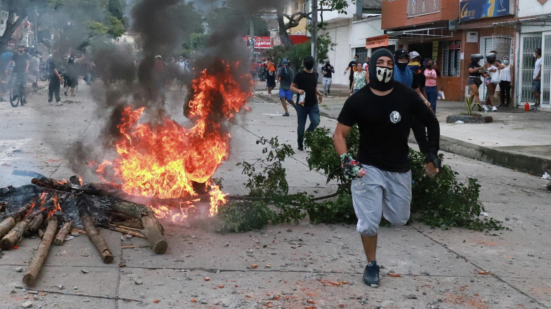 Protestas en Colombia - Sputnik Mundo, 1920, 04.05.2021
