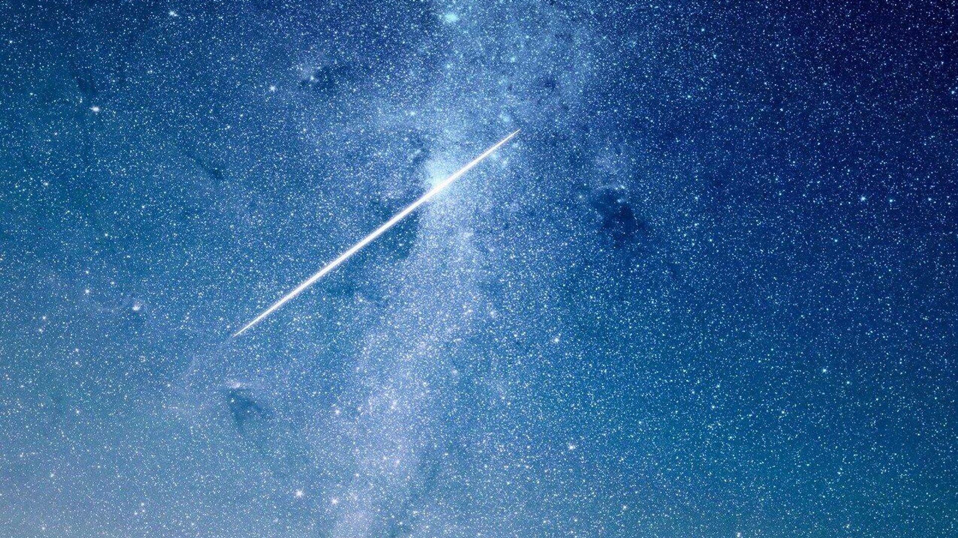 Una estrella fugaz (ilustración) - Sputnik Mundo, 1920, 04.05.2021