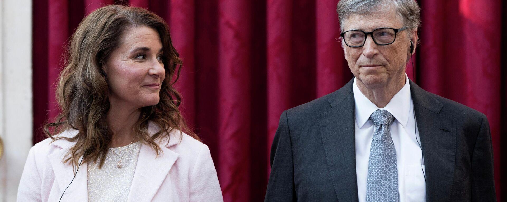 Bill y Melinda Gates (archivo) - Sputnik Mundo, 1920, 04.05.2021