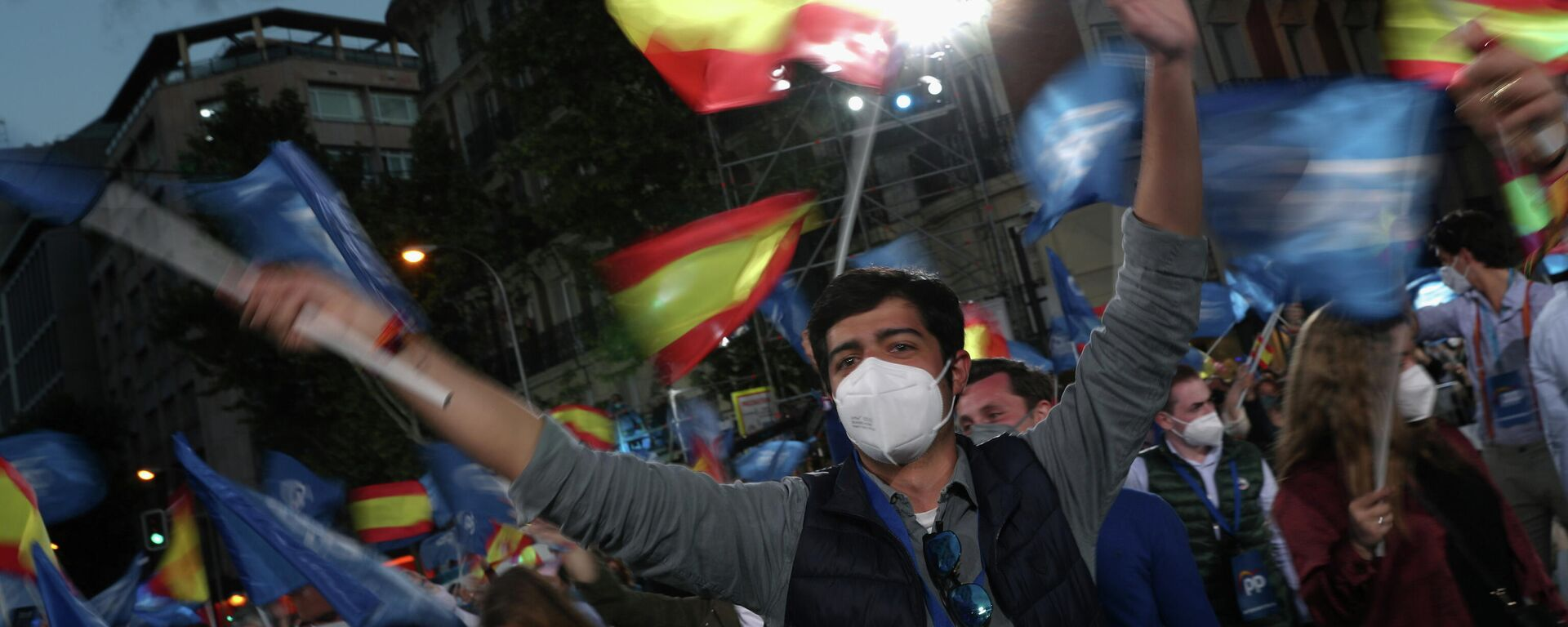Elecciones en Madrid - Sputnik Mundo, 1920, 04.05.2021