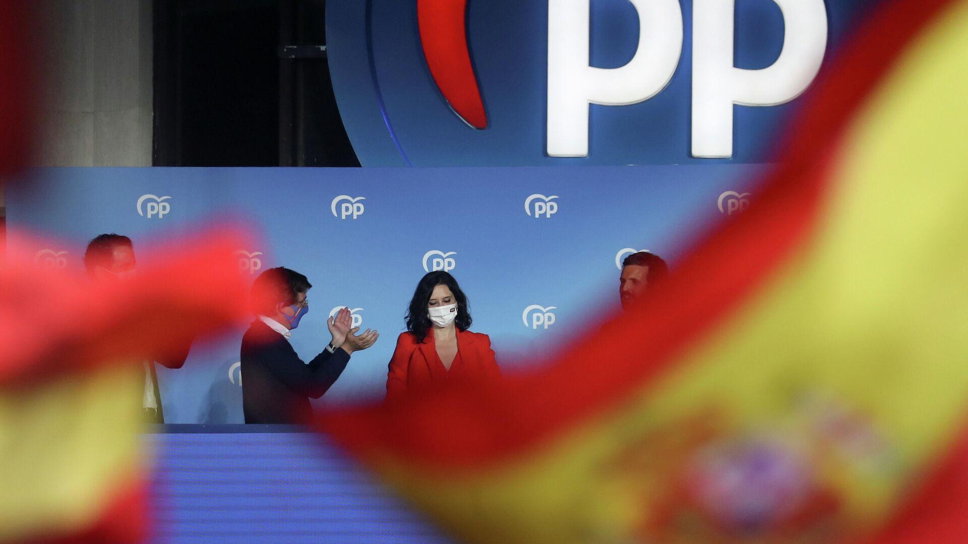 Elecciones regionales de Madrid - Sputnik Mundo, 1920, 05.05.2021