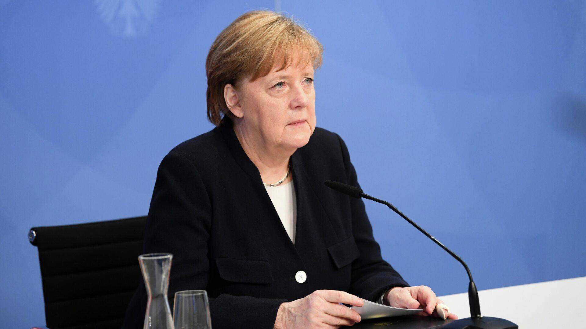 Angela Merkel, la canciller alemana - Sputnik Mundo, 1920, 05.05.2021
