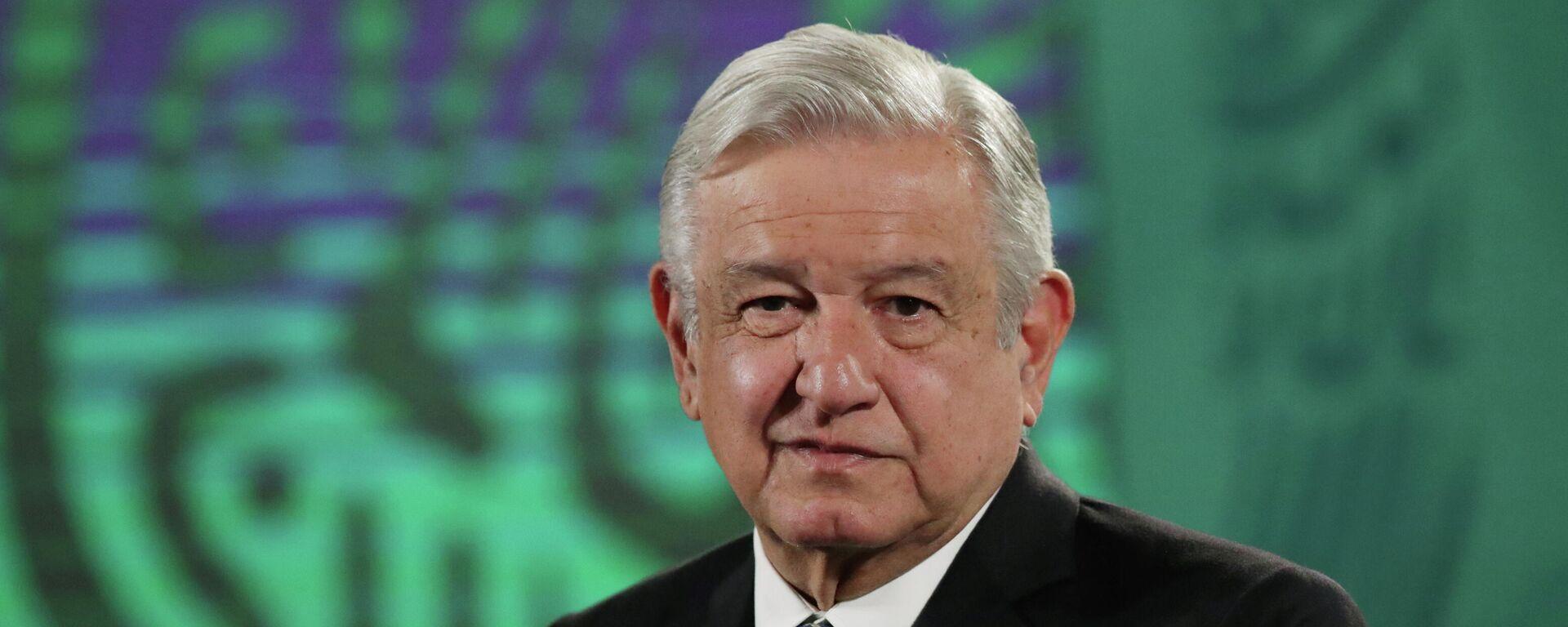Andrés Manuel López Obrador, el presidente de México  - Sputnik Mundo, 1920, 14.05.2021