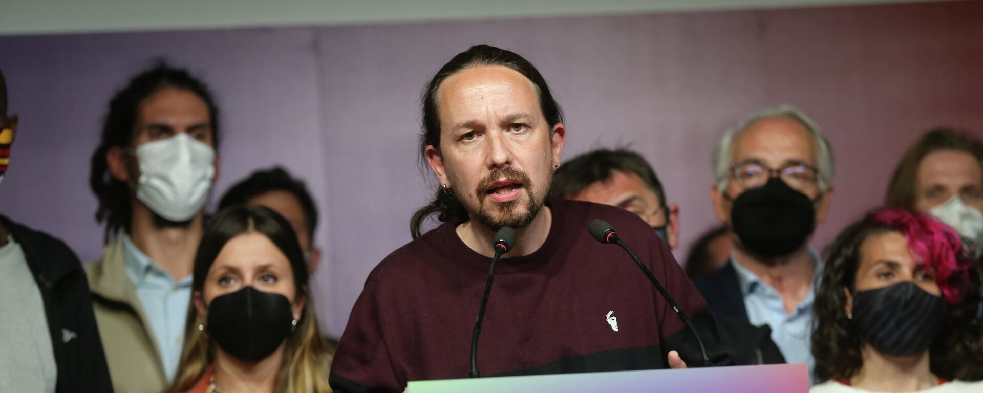Pablo Iglesias, exsecretario general del partido español Unidad Podemos - Sputnik Mundo, 1920, 05.05.2021