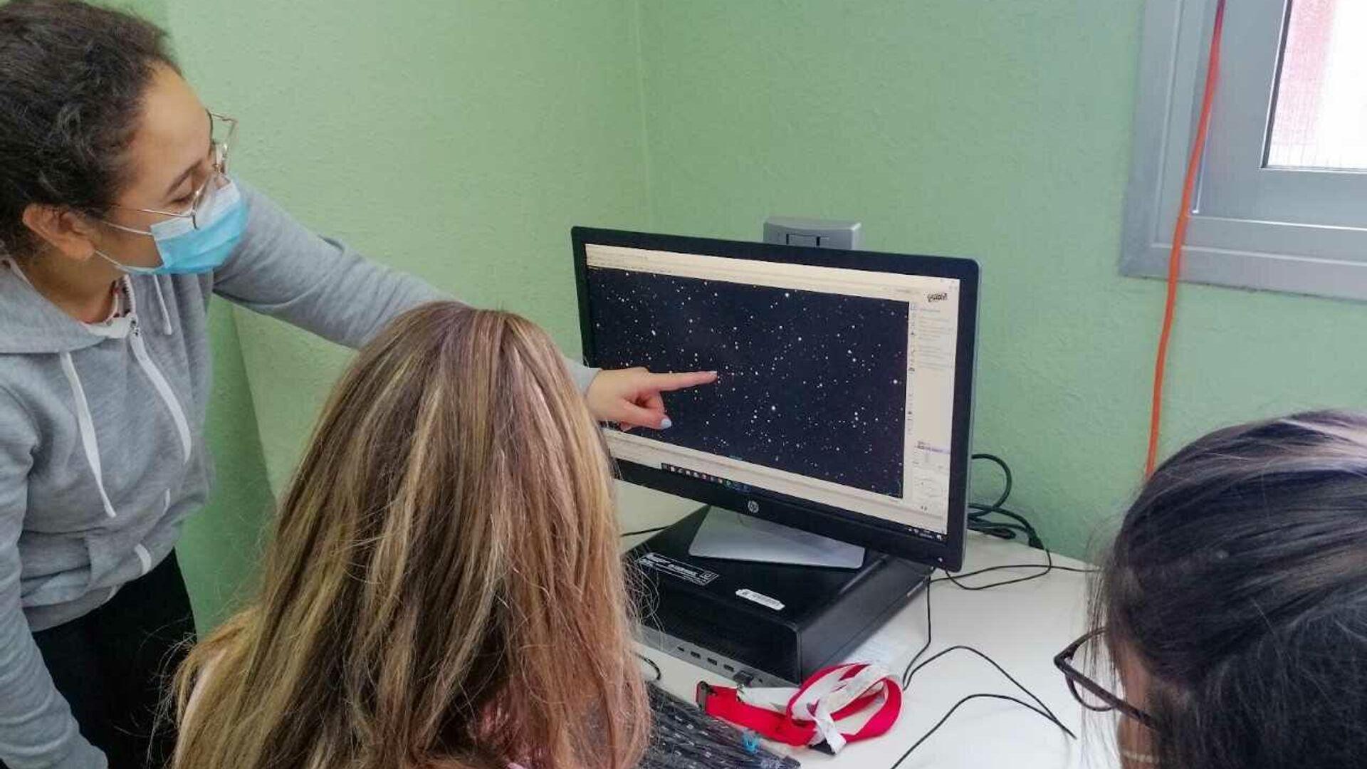 Estudiantes de dos institutos canarios descubren dos nuevas estrellas variables pulsantes - Sputnik Mundo, 1920, 05.05.2021