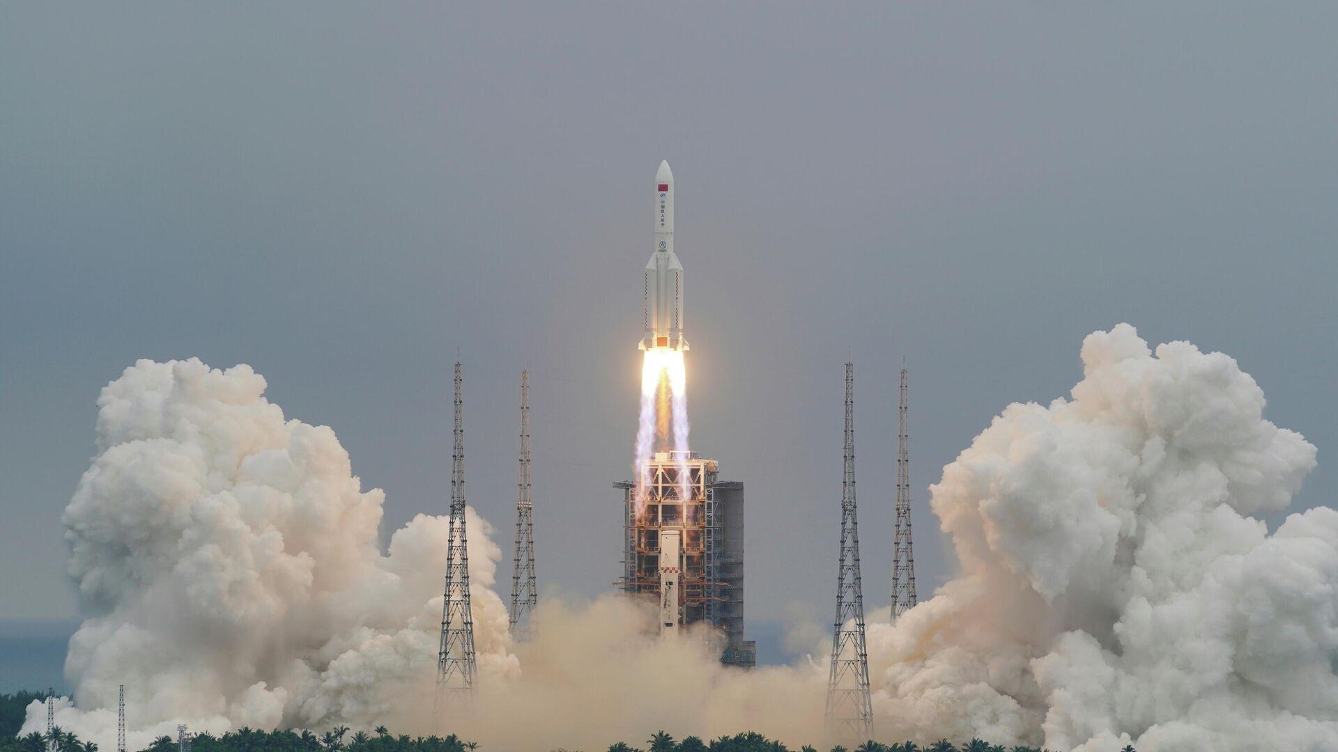 Cohete chino Long March 5B - Sputnik Mundo, 1920, 05.05.2021