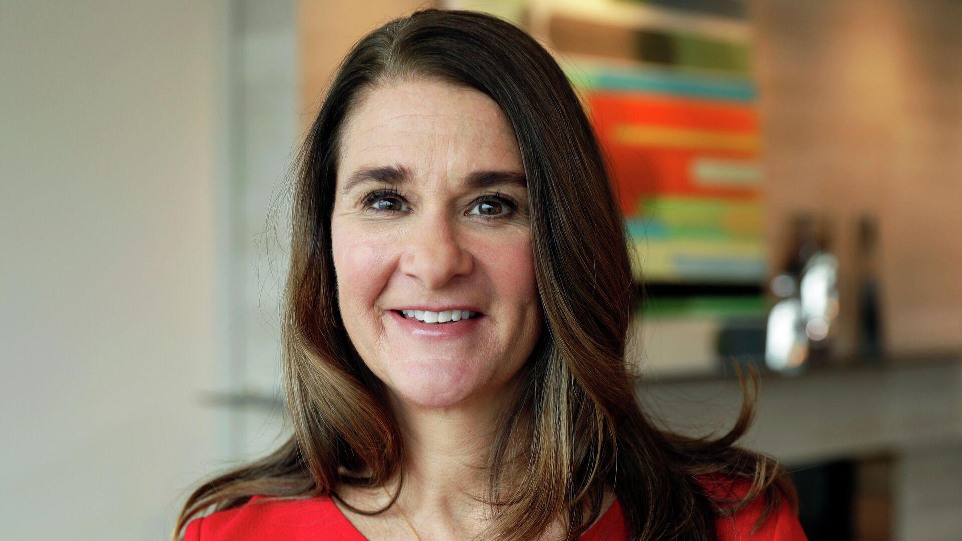 Melinda Gates, esposa de Bill Gates - Sputnik Mundo, 1920, 09.07.2021