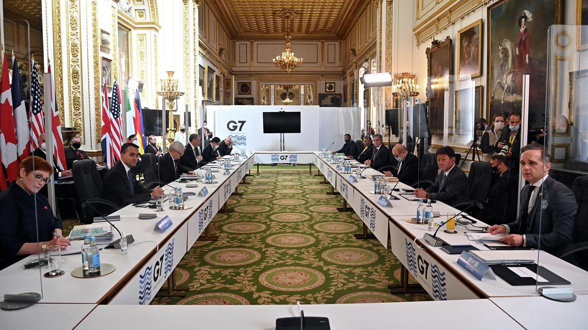 Reunión de G7 - Sputnik Mundo, 1920, 05.05.2021