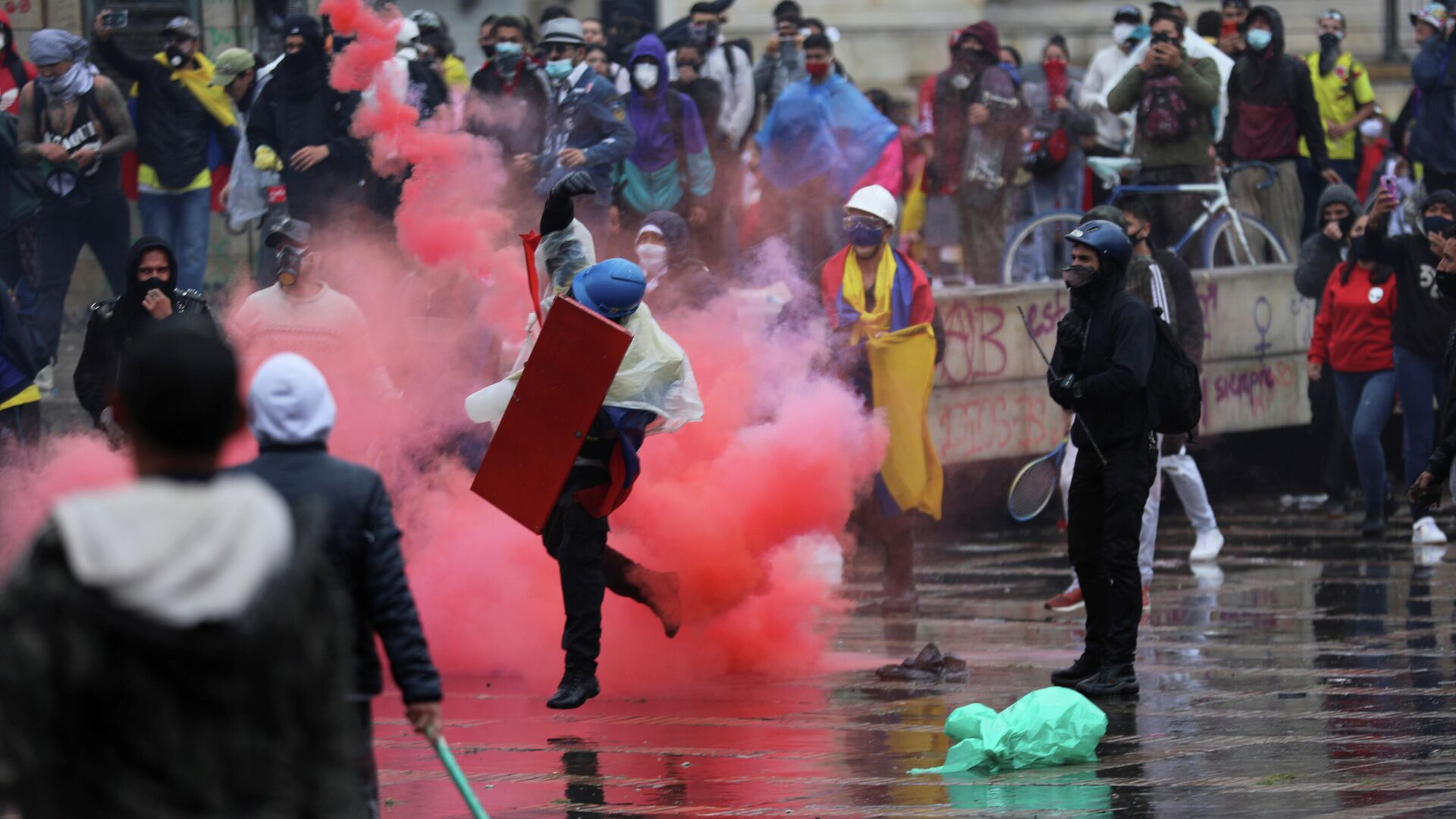 Protestas en Colombia - Sputnik Mundo, 1920, 06.05.2021