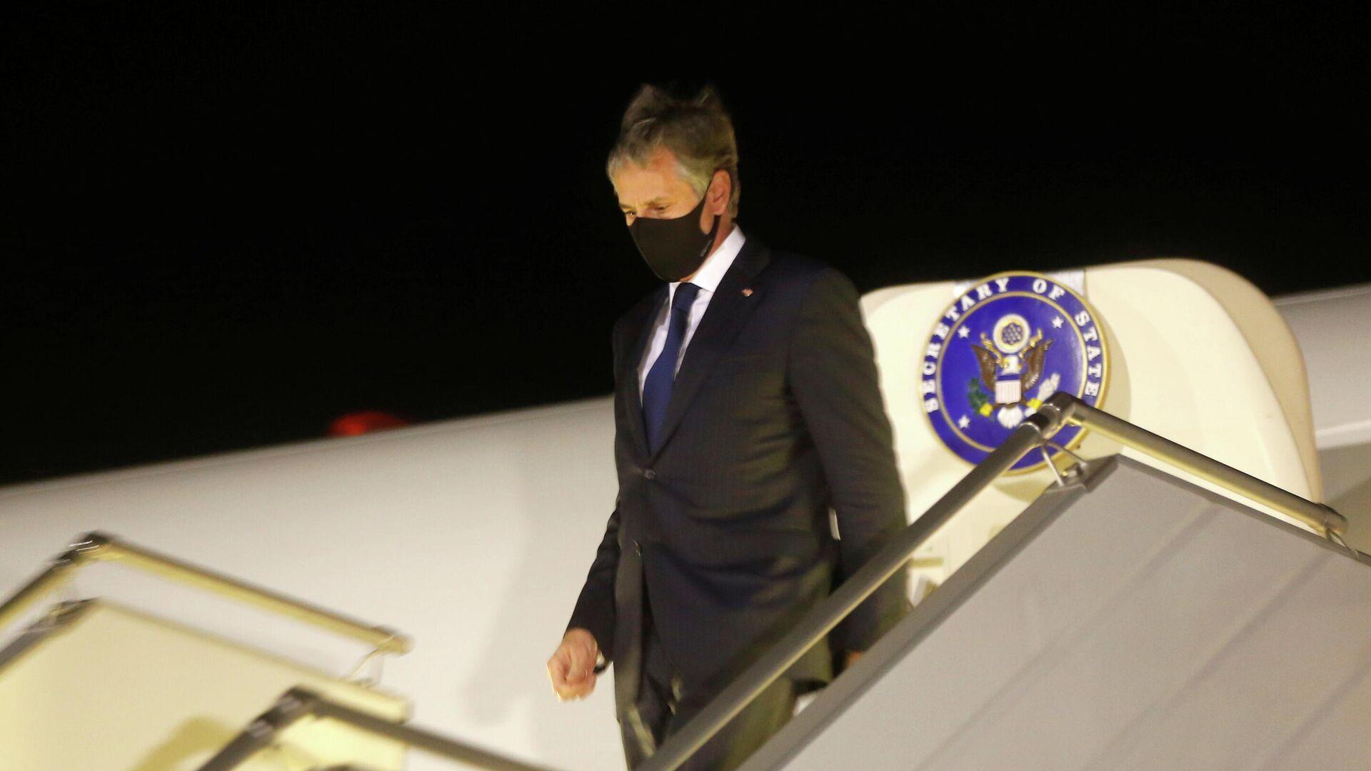 El secretario de Estado de EEUU, Antony Blinken, llega a Ucrania - Sputnik Mundo, 1920, 06.05.2021