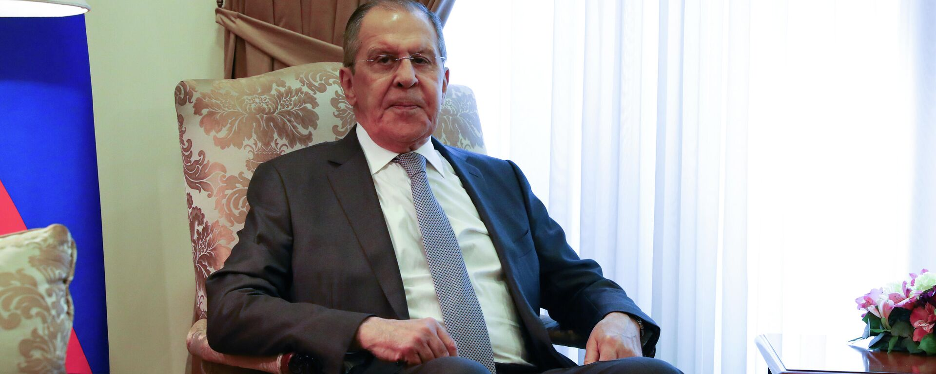 Serguéi Lavrov, el ministro de Exteriores ruso, durante su visita en Erevan, Armenia - Sputnik Mundo, 1920, 06.05.2021