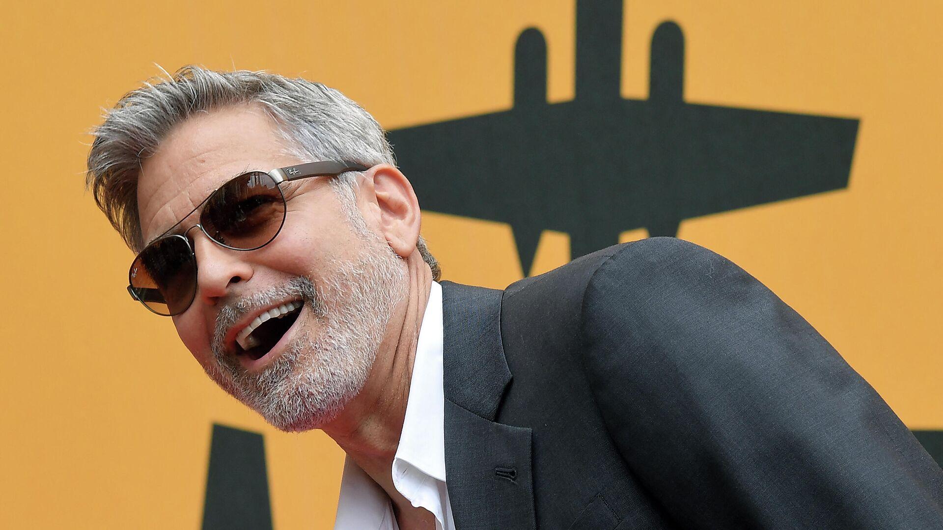 George Clooney, actor estadounidense - Sputnik Mundo, 1920, 06.05.2021