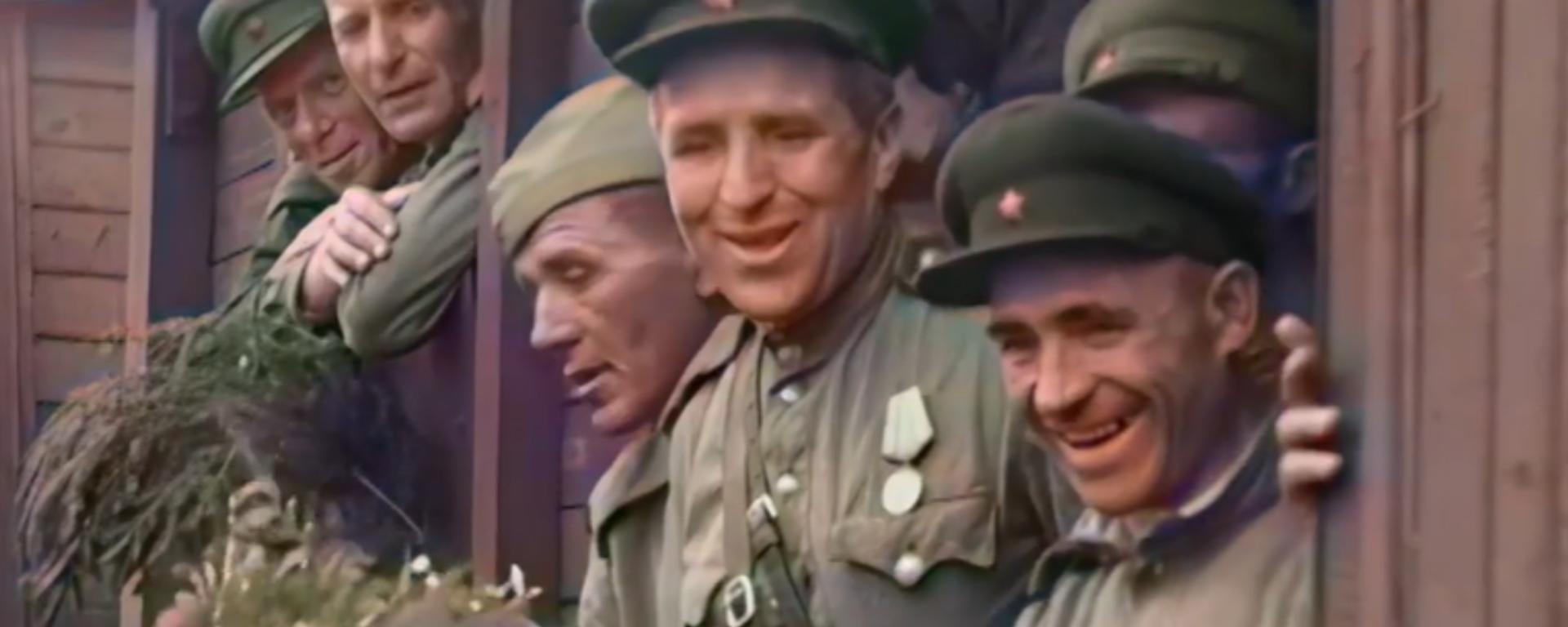 La victoria de la URSS en la II Guerra Mundial, como nunca la habías visto - Sputnik Mundo, 1920, 06.05.2021