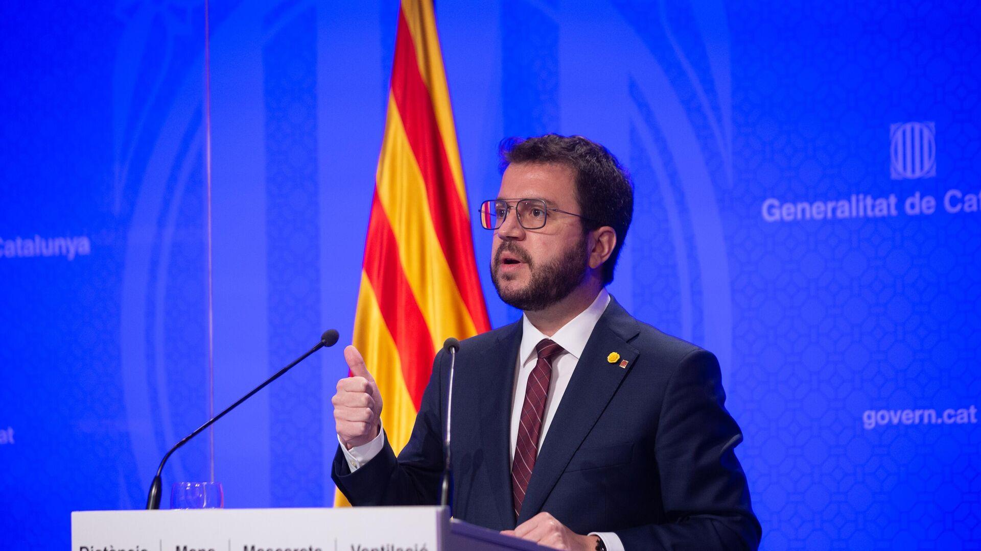 Pere Aragonès, vicepresidente de la Generalitat de Cataluña en funciones - Sputnik Mundo, 1920, 22.06.2021