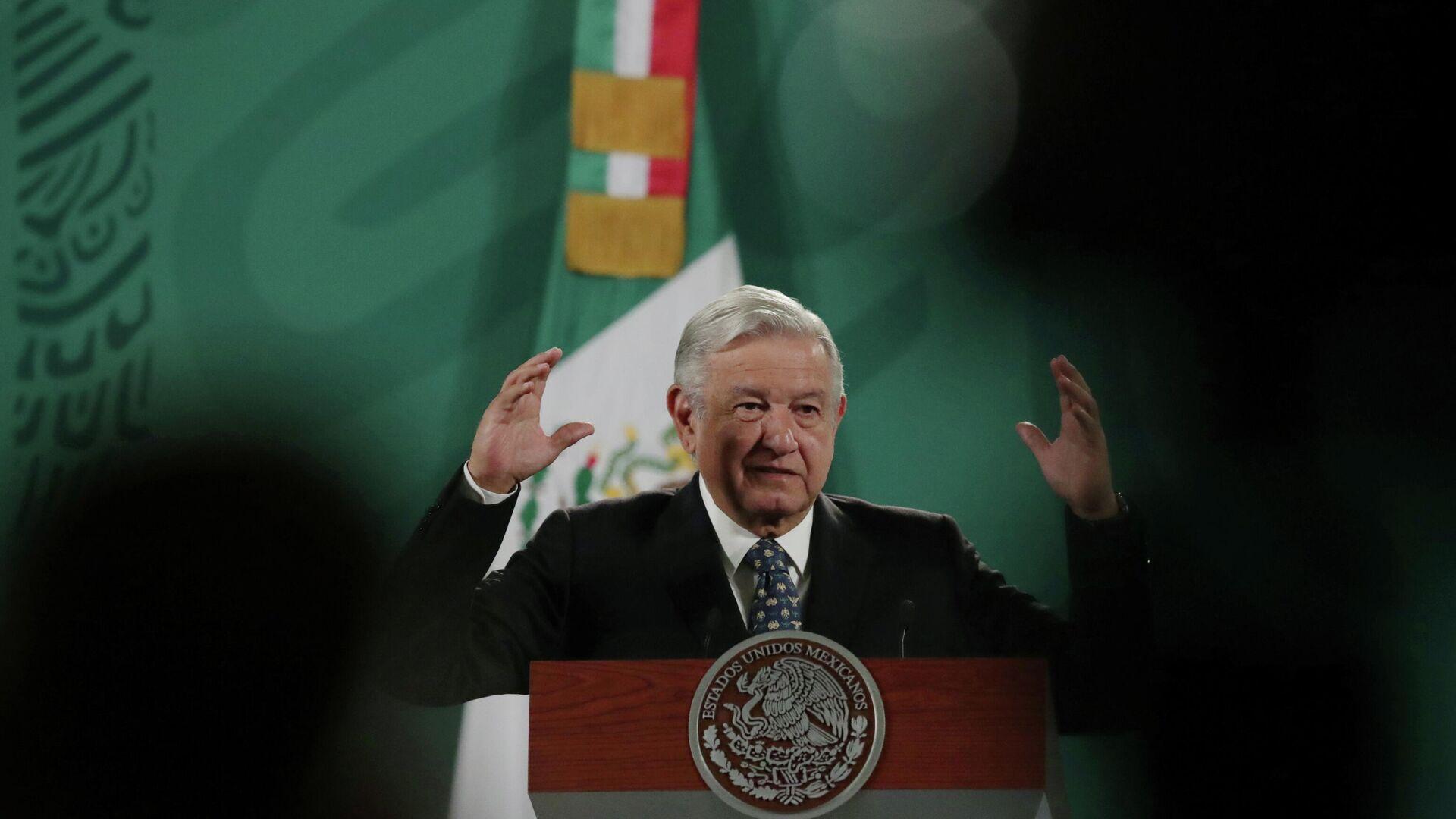 Andrés Manuel López Obrador,  presidente de México - Sputnik Mundo, 1920, 07.05.2021