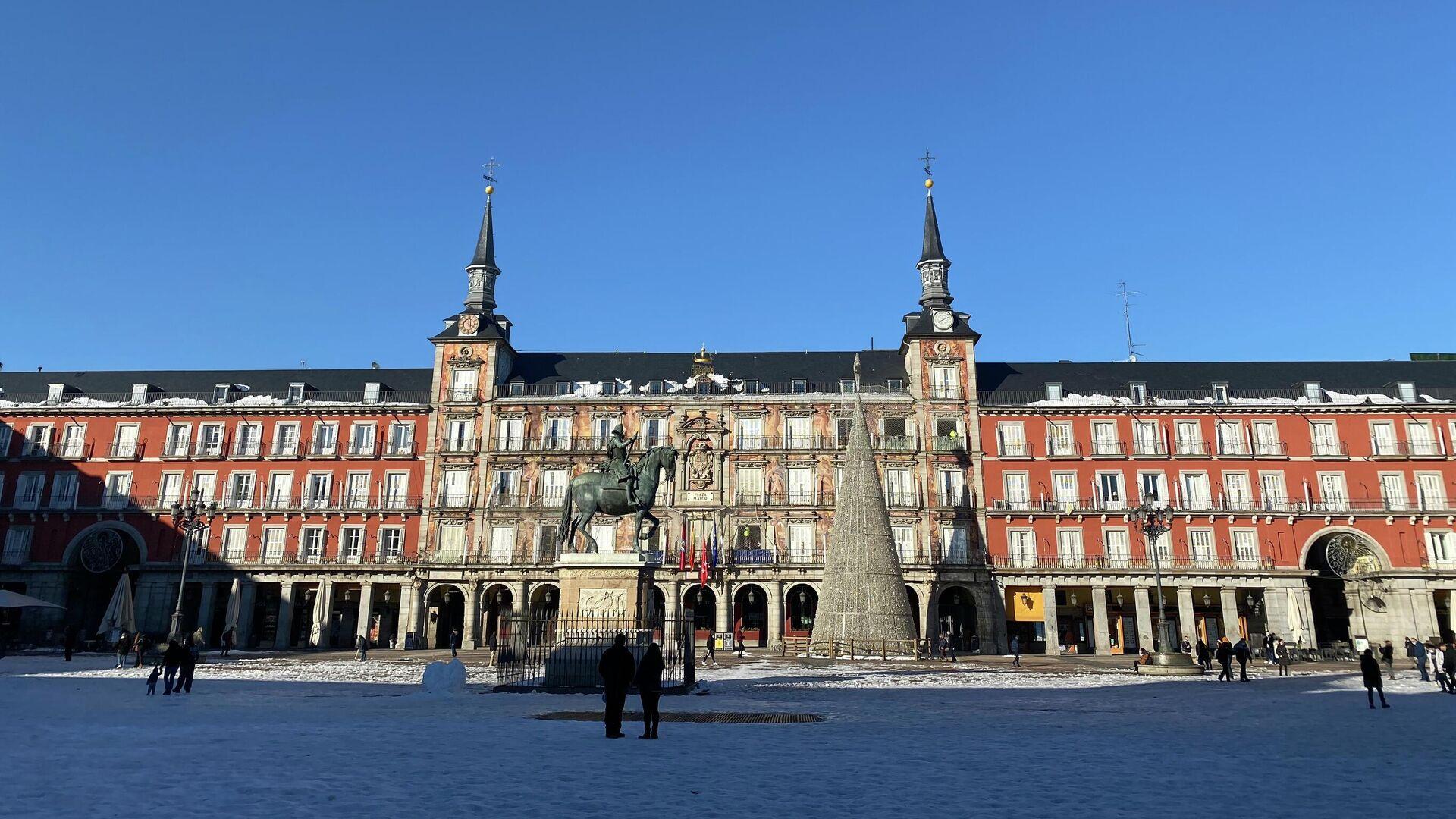 Plaza Mayor de Madrid - Sputnik Mundo, 1920, 07.05.2021