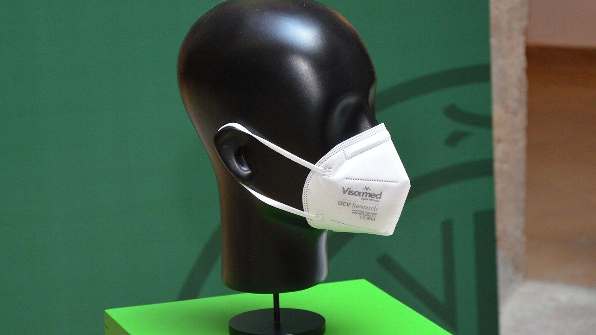 FFPcovid Mask, la mascarilla inteligente de diseño y fabricación valencianas - Sputnik Mundo, 1920, 07.05.2021