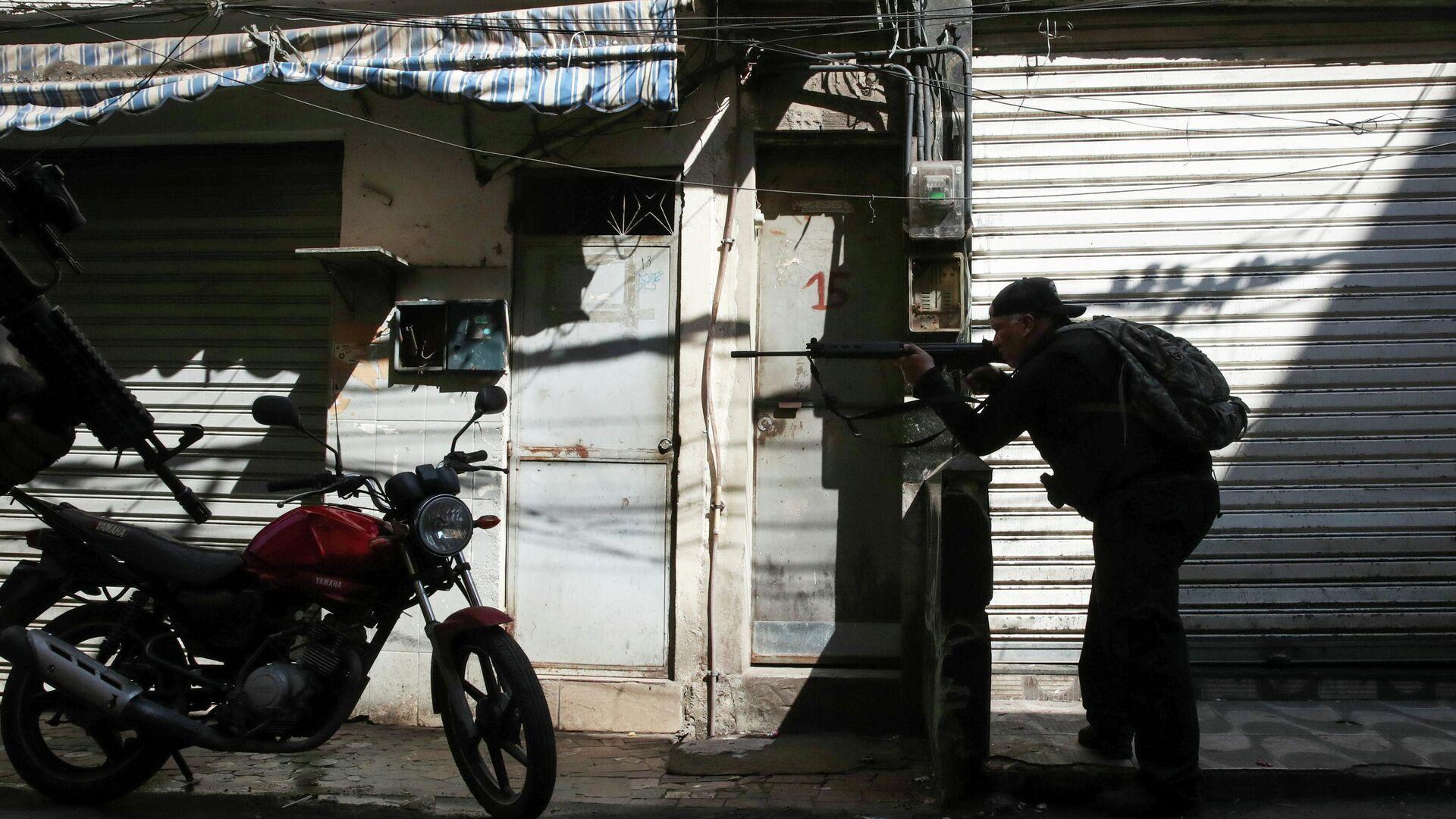 La operación policial en Jacarezinho que terminó con 25 personas muertas en una favela en Río de Janeiro - Sputnik Mundo, 1920, 07.05.2021