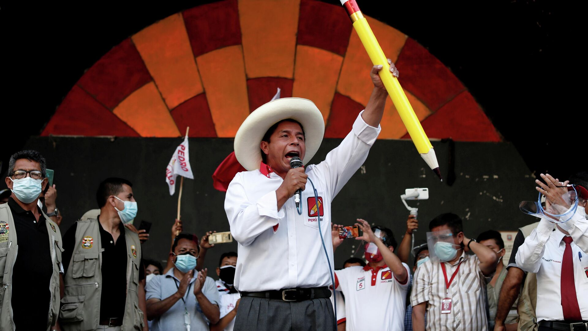 Pedro Castillo, candidato a la presidencia de Perú - Sputnik Mundo, 1920, 07.05.2021