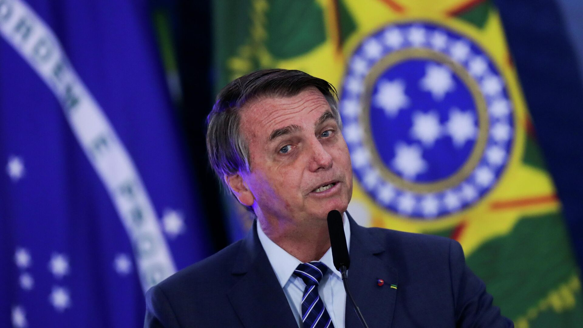Jair Bolsonaro, presidente de Brasil - Sputnik Mundo, 1920, 07.05.2021