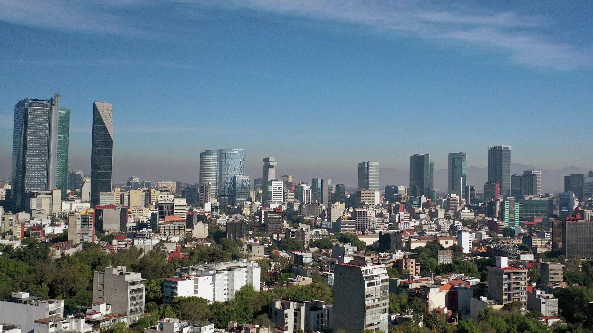 Ciudad de México vista desde el aire - Sputnik Mundo, 1920, 08.05.2021