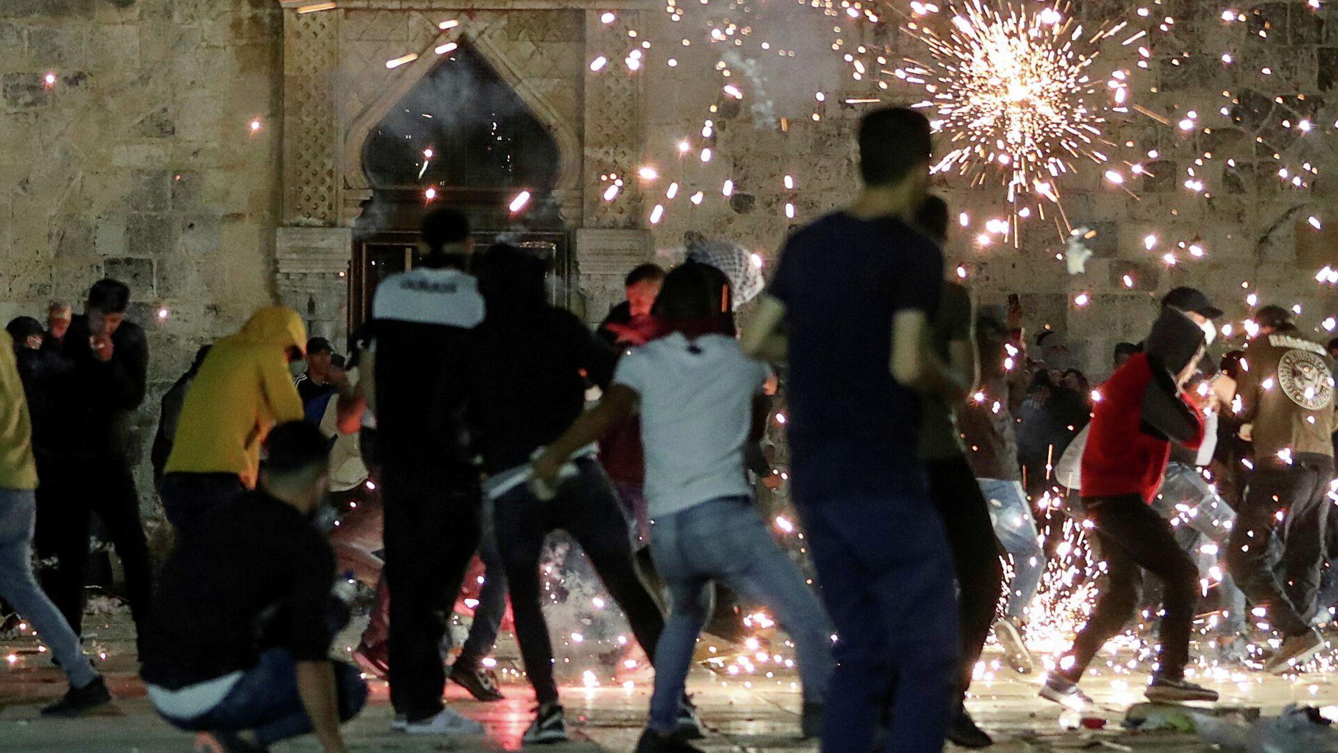 Disturbios en Jerusalén, Israel - Sputnik Mundo, 1920, 08.05.2021