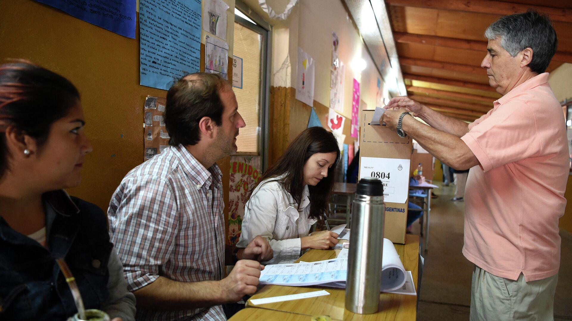 Elecciones en Argentina - Sputnik Mundo, 1920, 08.05.2021