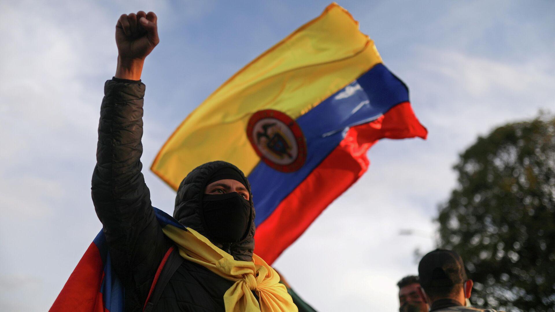 Protestas en Bogotá, Colombia - Sputnik Mundo, 1920, 08.05.2021
