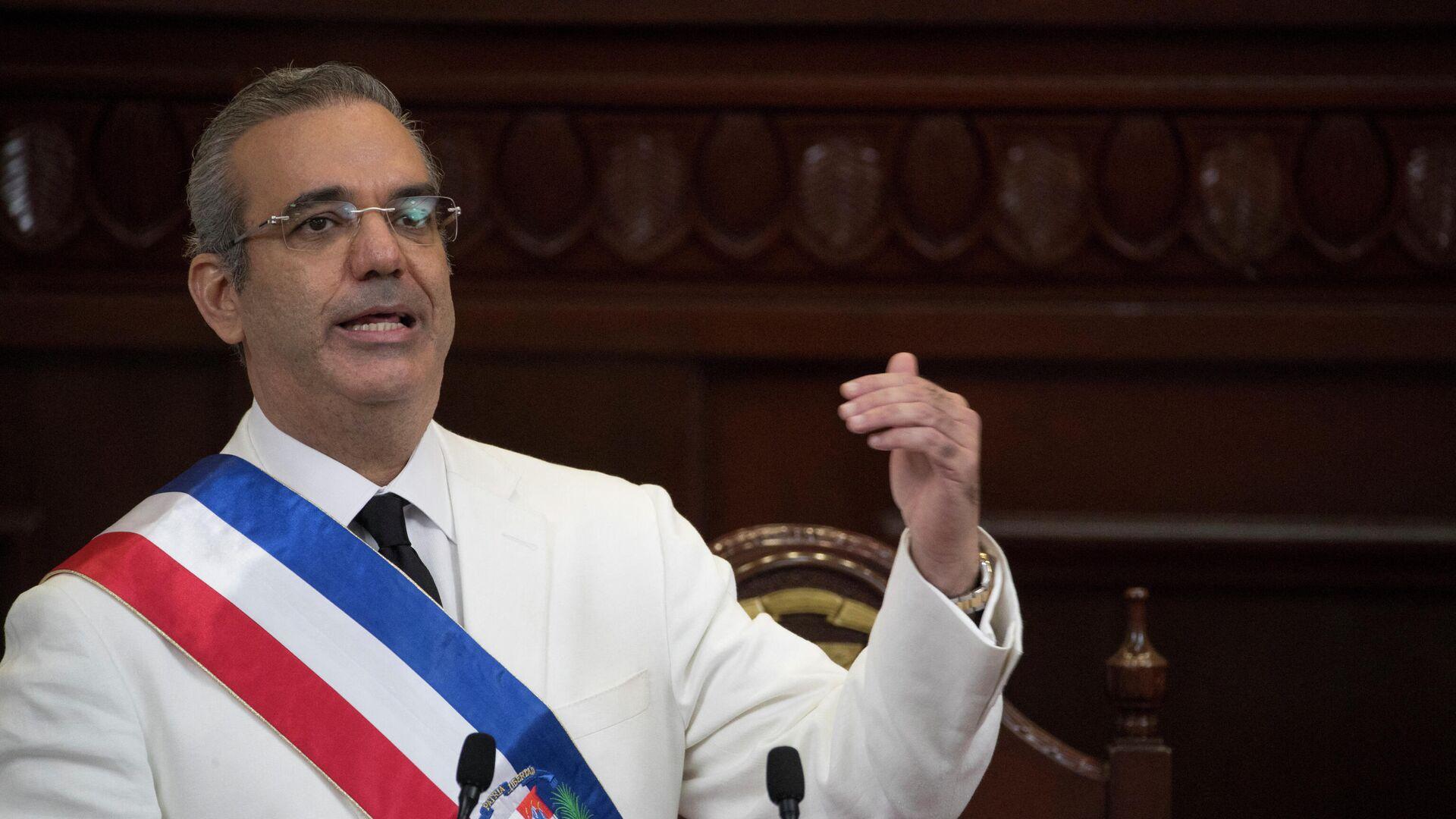 Luis Abinader, presidente de República Dominicana - Sputnik Mundo, 1920, 08.05.2021