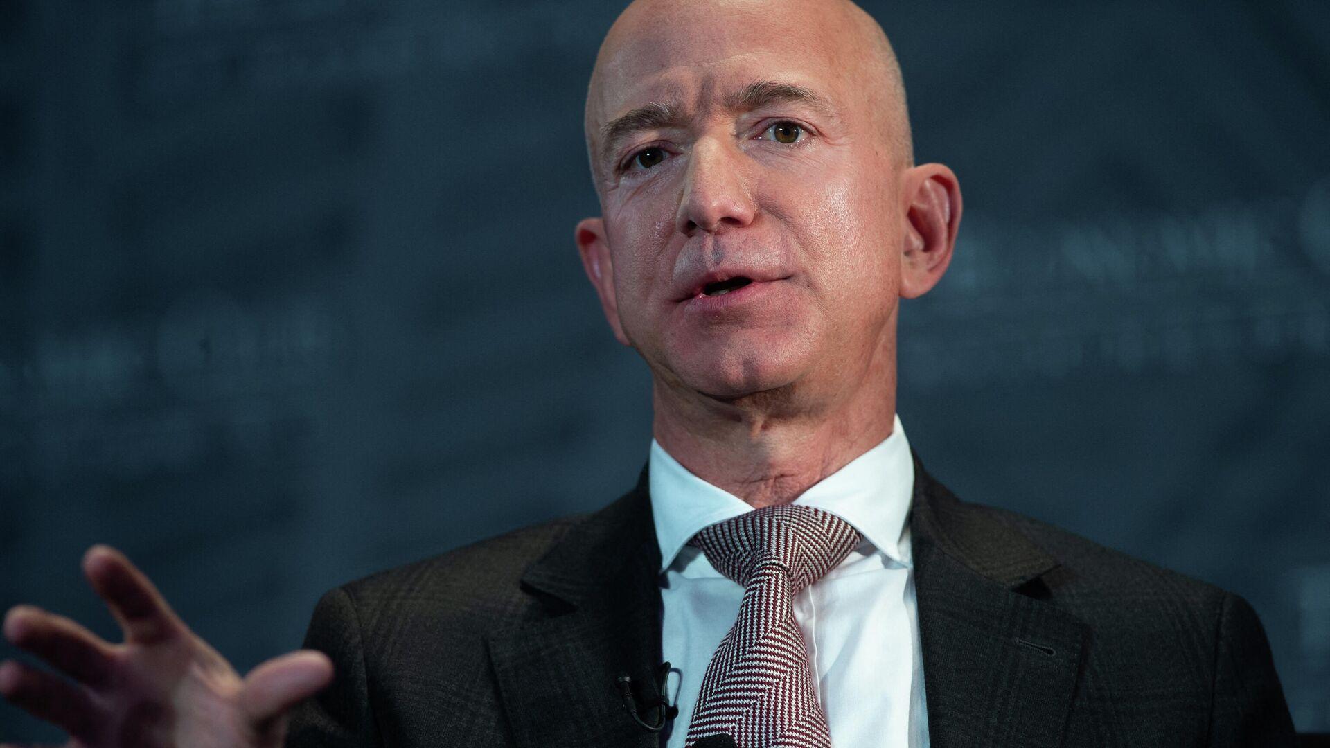 Jeff Bezos, empresario estadounidense - Sputnik Mundo, 1920, 08.05.2021