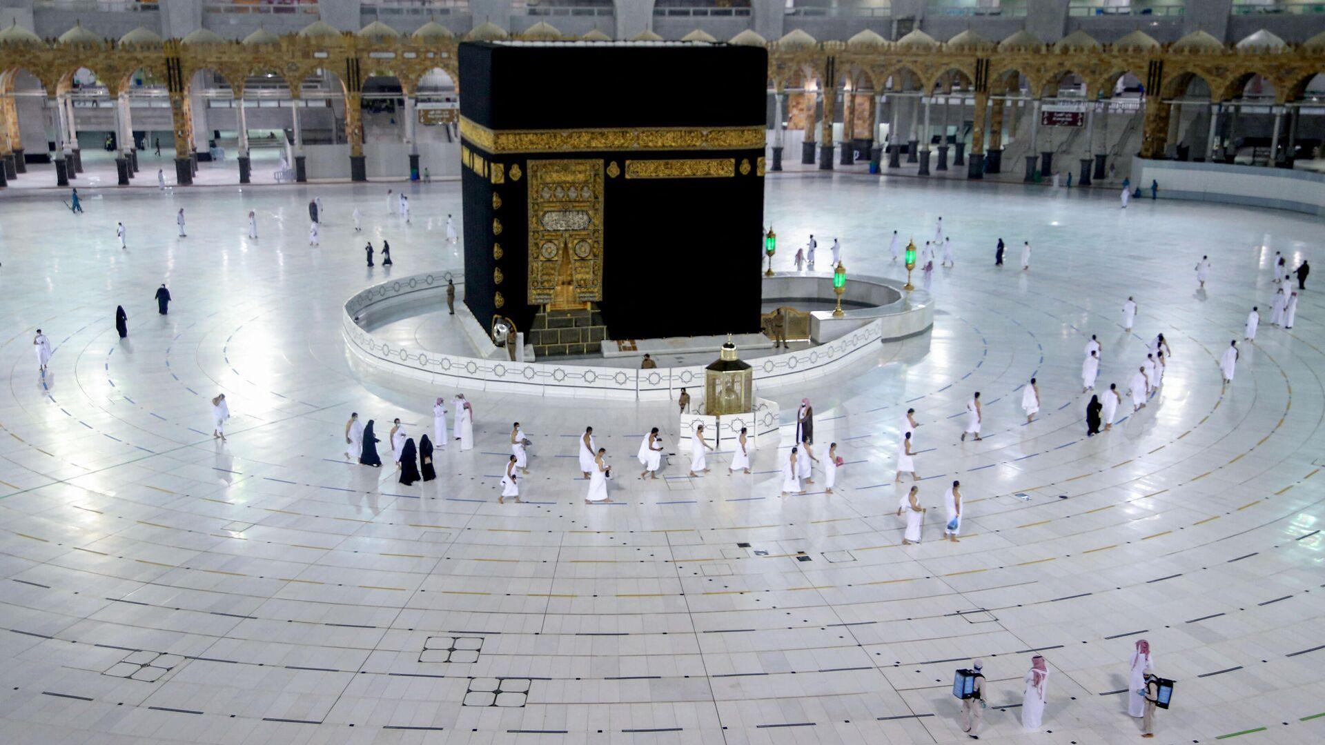 La Kaaba en la Meca - Sputnik Mundo, 1920, 09.05.2021