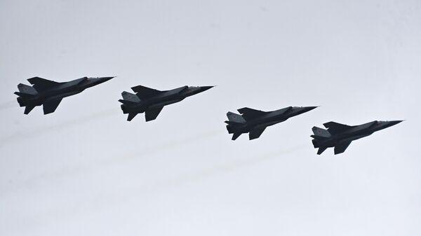 Los cazas interceptores MiG-31K - Sputnik Mundo