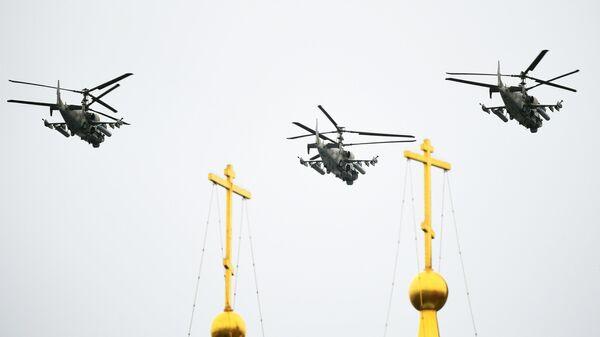 Los helicópteros Ka-52 - Sputnik Mundo
