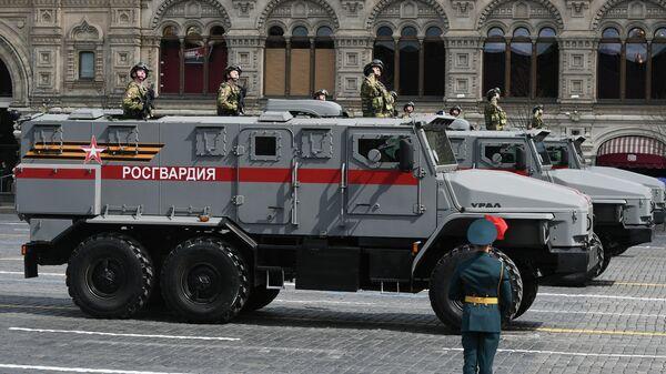 Los autos blindados Ural - Sputnik Mundo