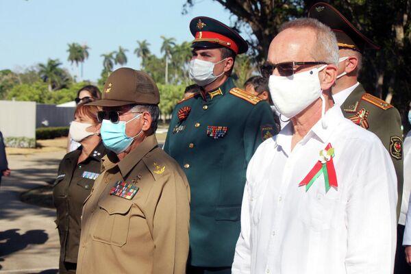 General Ramón Pardo Guerra, en homenaje por el Día de la Victoria sobre el fascismo - Sputnik Mundo