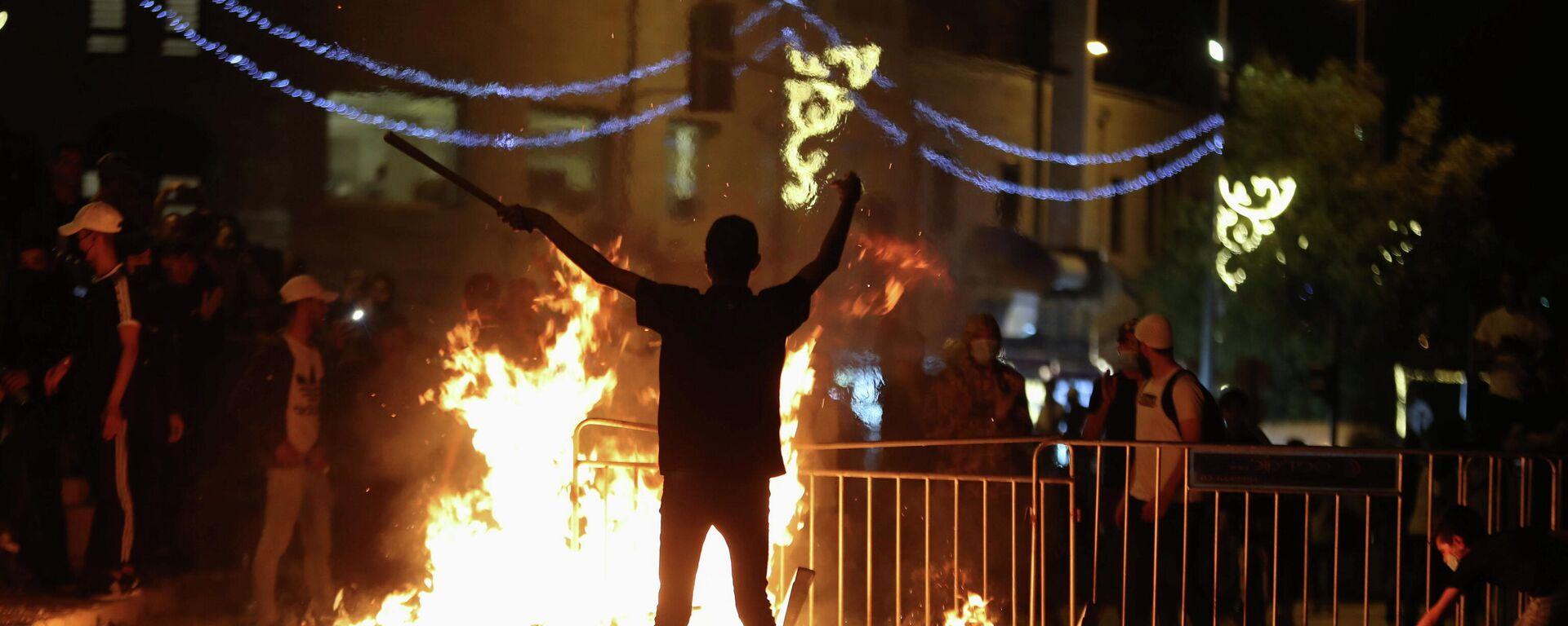 Protestas y disturbios en Jerusalén - Sputnik Mundo, 1920, 10.05.2021