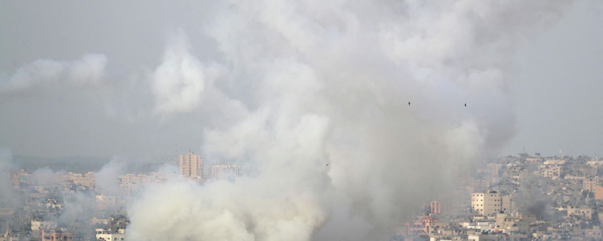 Un ataque aéreo en Gaza - Sputnik Mundo, 1920, 10.05.2021