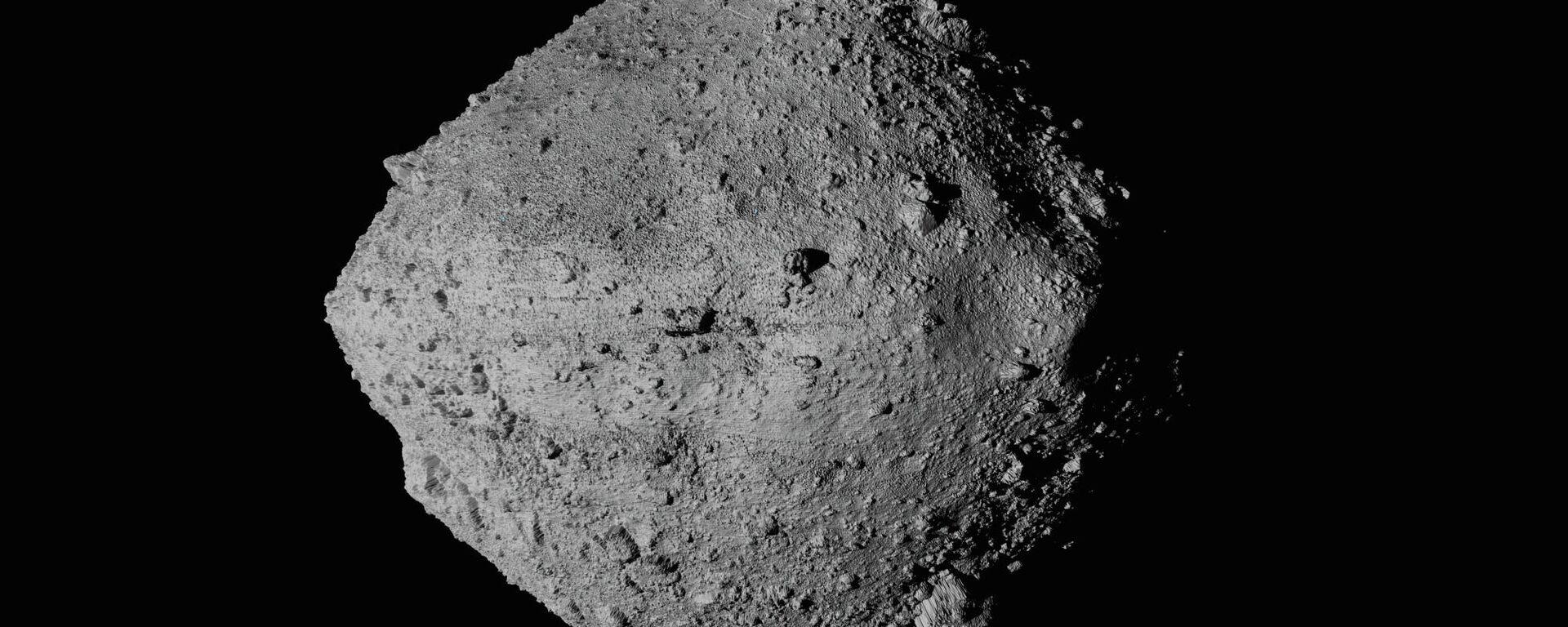 El asteroide Bennu, fotografiado desde la sonda Osiris-Rex - Sputnik Mundo, 1920, 10.05.2021
