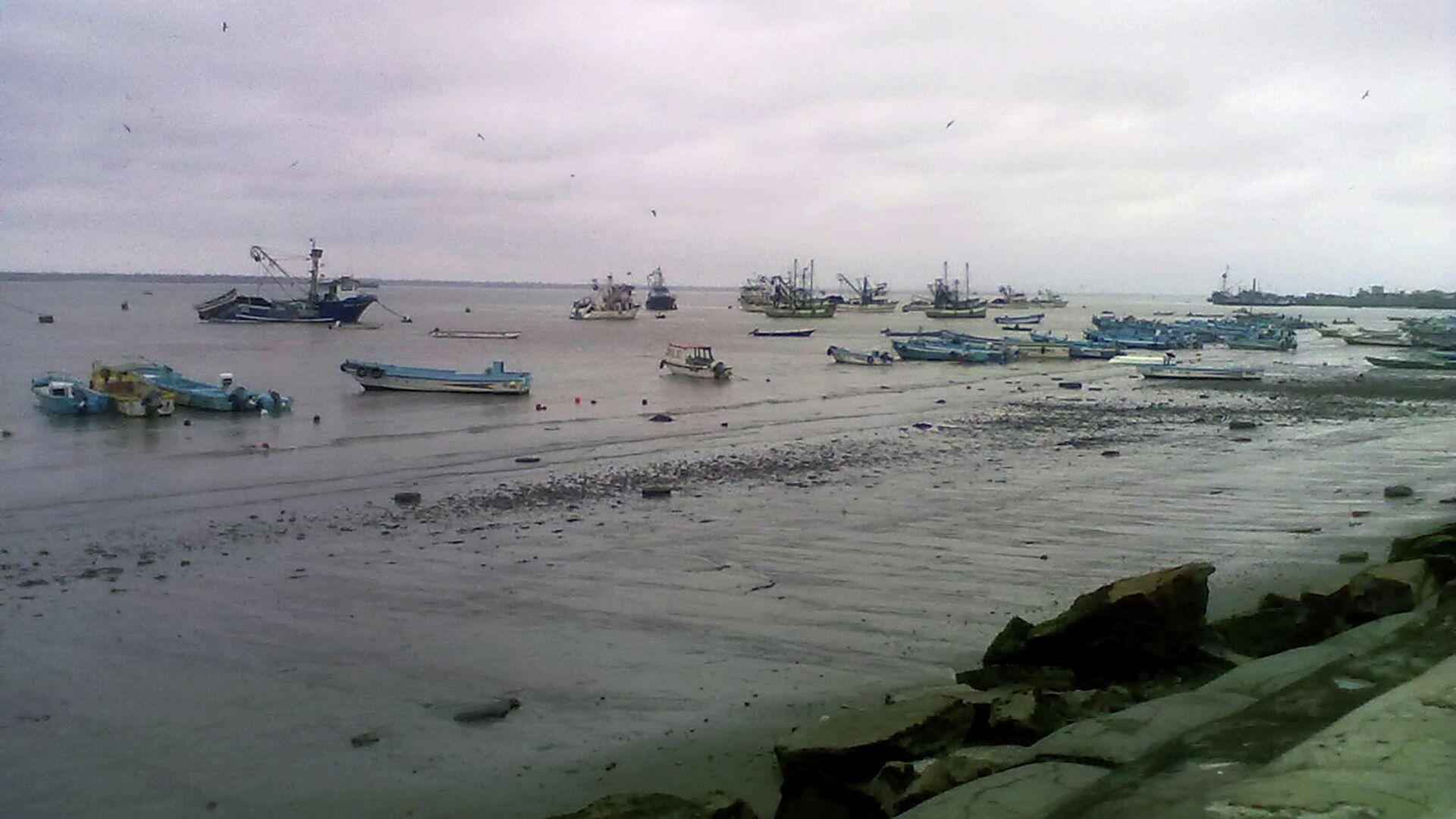 Puerto pesquero de Posorja.  - Sputnik Mundo, 1920, 10.05.2021