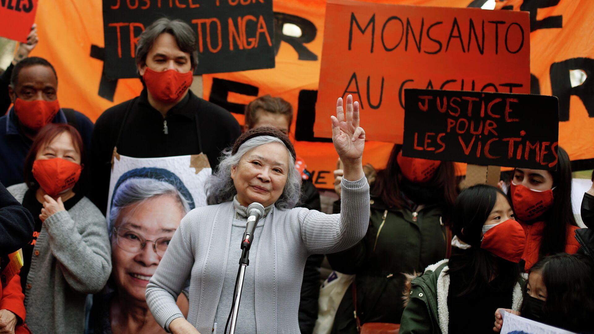 Tran To Nga, autora de la demanda contra compañías multinacionales por el uso de 'agente naranja' en la guerra de Vietnam - Sputnik Mundo, 1920, 11.05.2021