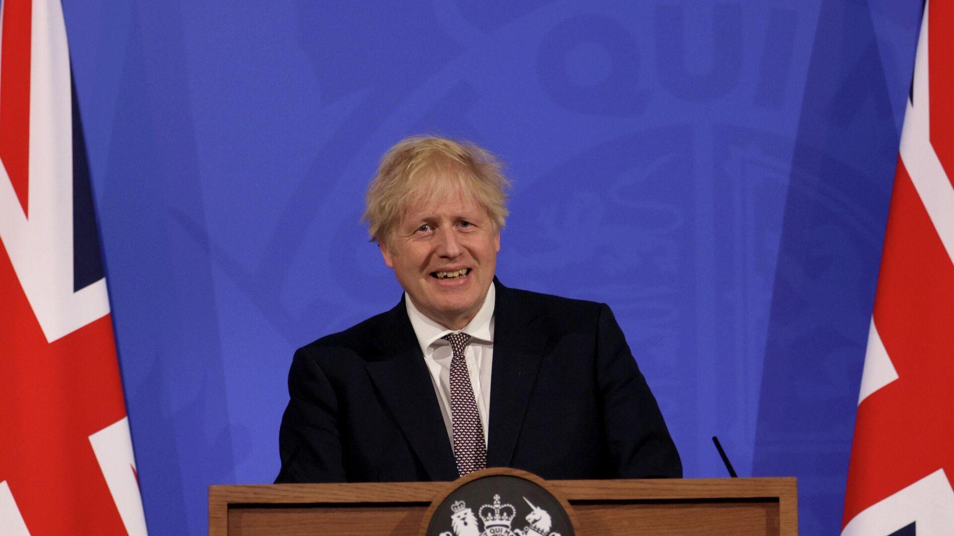 Boris Johnson, primer ministro del Reino Unido - Sputnik Mundo, 1920, 02.06.2021