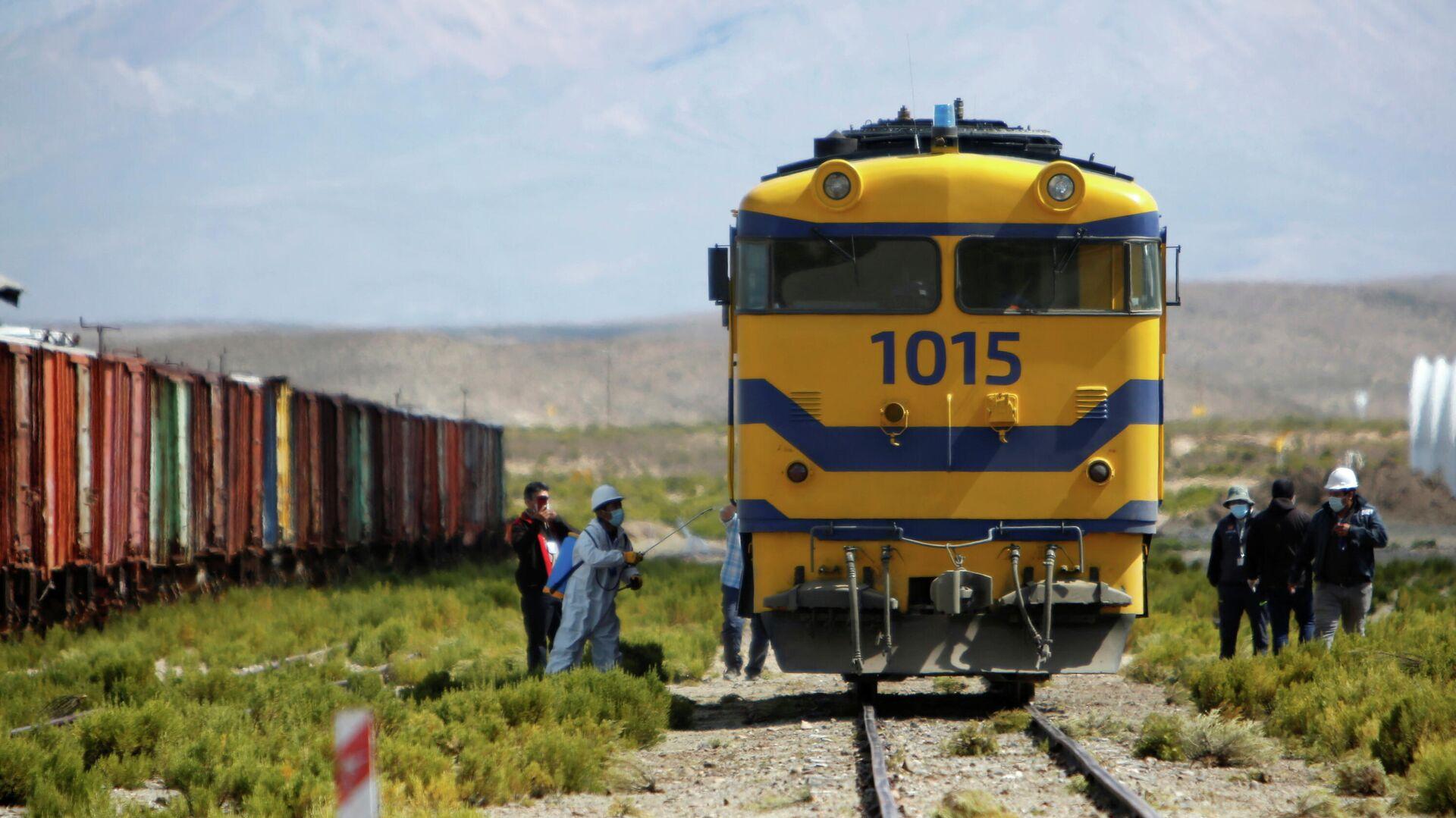 Rehabilitación del ferrocarril La Paz-Arica - Sputnik Mundo, 1920, 11.05.2021