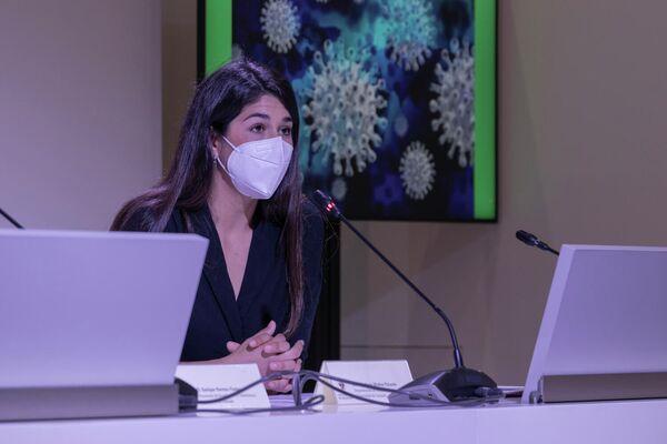 Bárbara Muñoz, investigadora de UGR  - Sputnik Mundo