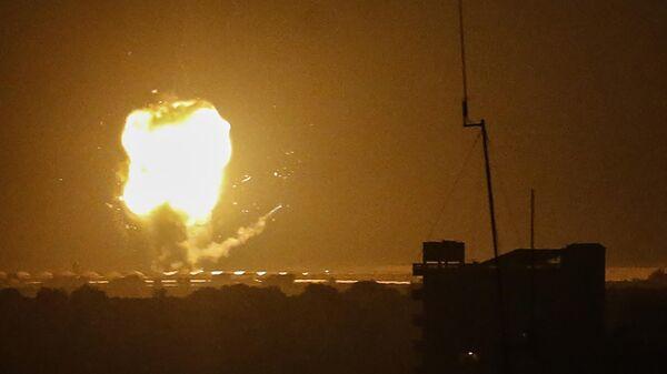 Bombardeo de la Franja de Gaza por Israel - Sputnik Mundo