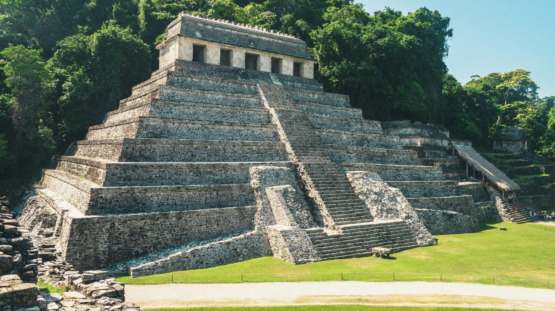 Pirámide de Palenque  - Sputnik Mundo, 1920, 11.05.2021