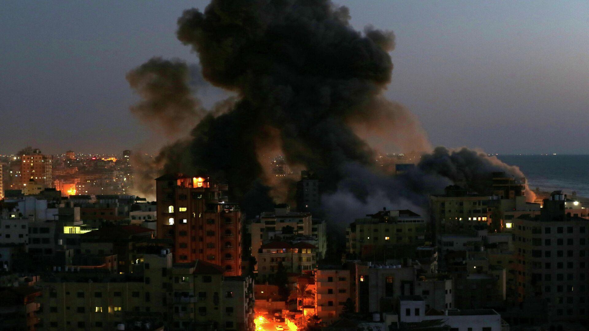 Explosión en Gaza - Sputnik Mundo, 1920, 11.05.2021