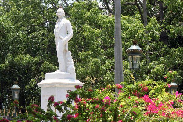 Estatua a Carlos Manuel de Céspedes, Padre de la Patria, La Habana - Sputnik Mundo