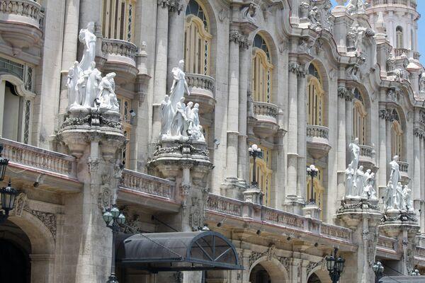Esculturas del Gran Teatro de La Habana - Sputnik Mundo